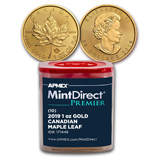 Gold Maple Leafs (MintDirect®)